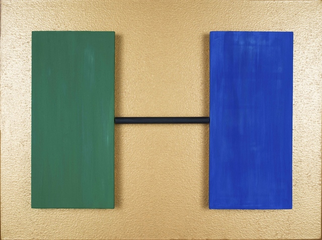 , 'Green Blue,' 2014, Upsilon Gallery