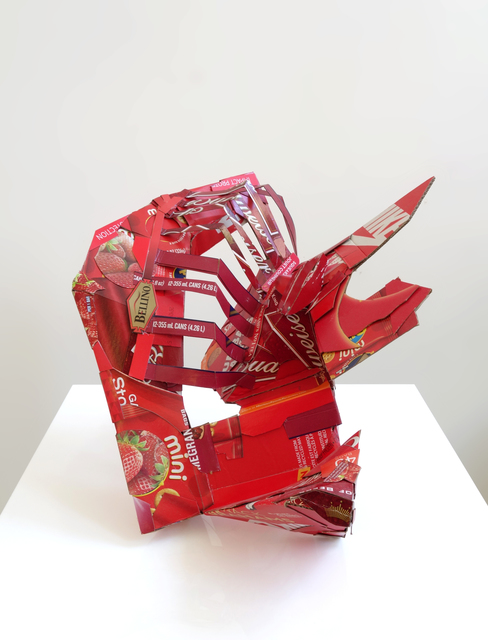 , 'Red Dye #40,' 2015, Pavel Zoubok Gallery