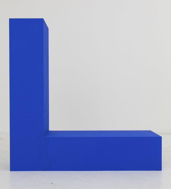 , 'Untitled (Blue),' 2015, Nina Johnson