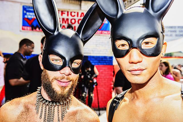Mitchell Funk, ' Folsom Street Fair, BDSM Leather Event #25', 2015, Robert Funk Fine Art