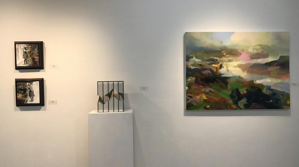 Joshua Flint, Andrew Hayes & Jeffrey Beauchamp in Gallery I
