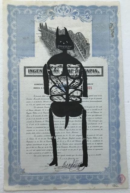 Victoria Behm, 'Blue Skeleton II', 2012, 440 Gallery