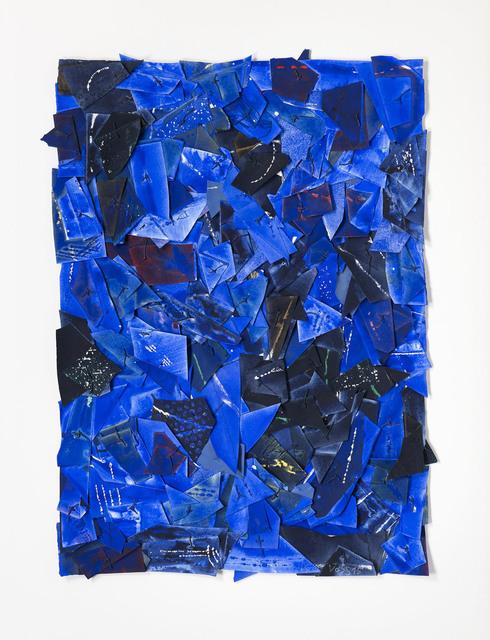 , 'Site 127 (bleu),' 2015, Galerie Lelong & Co.