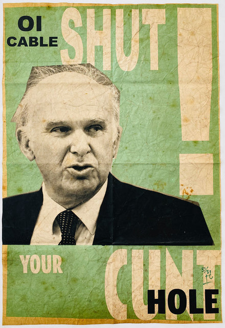 , 'Vince cable royal mail sell-off,' 2013, Robert Fontaine Gallery