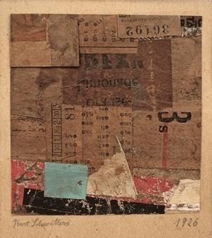 , 'Untitled (Merzzeichnung),' 1926, Galerie Natalie Seroussi