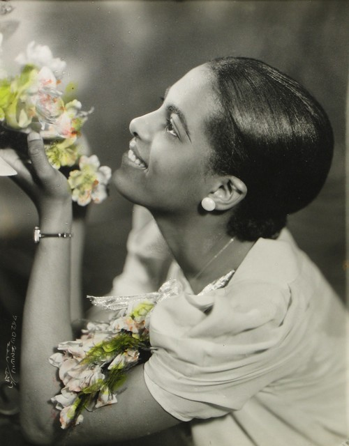 , 'Lady with Two Corsages,' 1935, Howard Greenberg Gallery