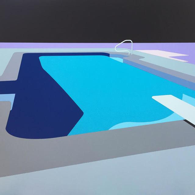 , 'After the splash (state 3),' 2018, George Billis Gallery