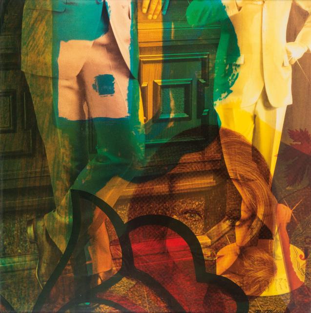 Mimmo Rotella, 'Vitrine', 1972, Leclere