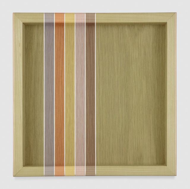 , 'Untitled (Lime Green Hovering Thread),' 2017, PRAZ-DELAVALLADE
