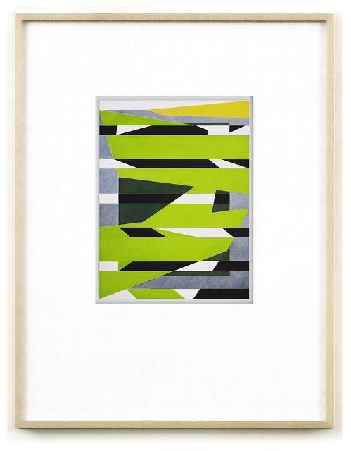 , 'Caspar Hausers Versuch die befohlene Tonlage zu torpedieren. cp0219,' 2015, Galerie Hubert Winter