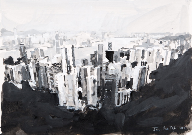 , 'Hong Kong from The Peak,' 2013, DELAHUNTY