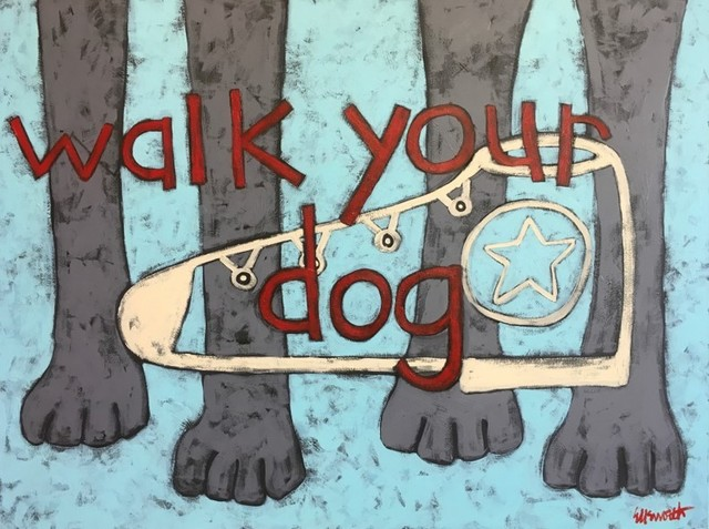 Jaime Ellsworth, 'Walk Your Dog', 2019, WaterWorks Gallery