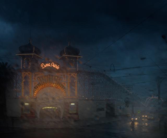 Christopher Rimmer, 'Luna Park 4', 2015, Angela Tandori Fine Art