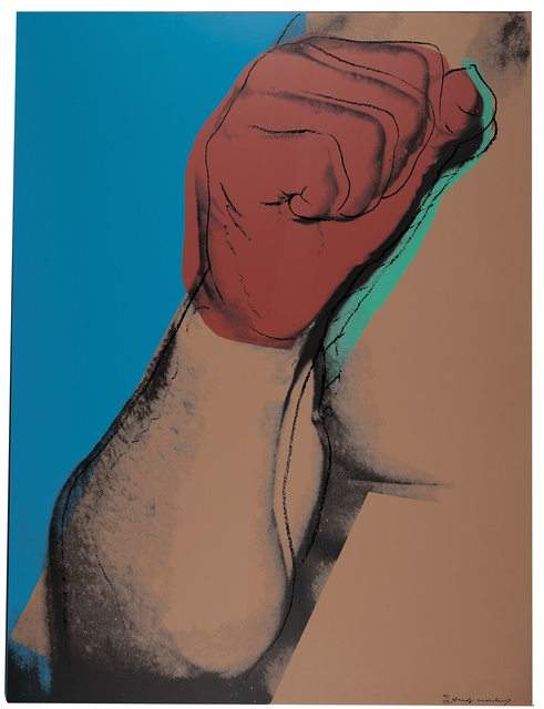 Andy Warhol, 'Muhammad Ali (F. & S. II.181)', 1978, Print, Screenprint in colors on paper, Christie's Warhol Sale