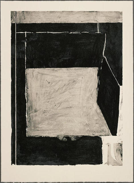 Richard Diebenkorn, ' Black and Grey', 1986, Cynthia Drennon Fine Arts