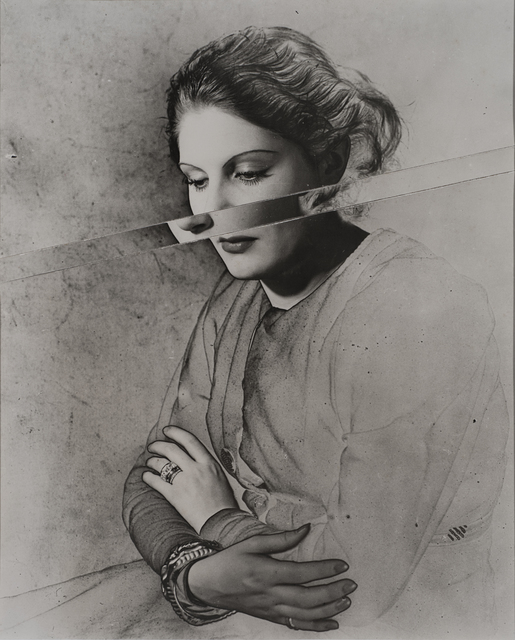 , 'Portrait, Solarised and Cut,' 1937, Osborne Samuel
