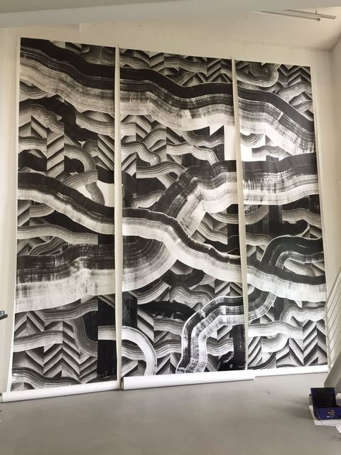 , 'hier ist schwarz auf weiss,' 2017, Muster-Meier Contemporary Fine Art & Projects