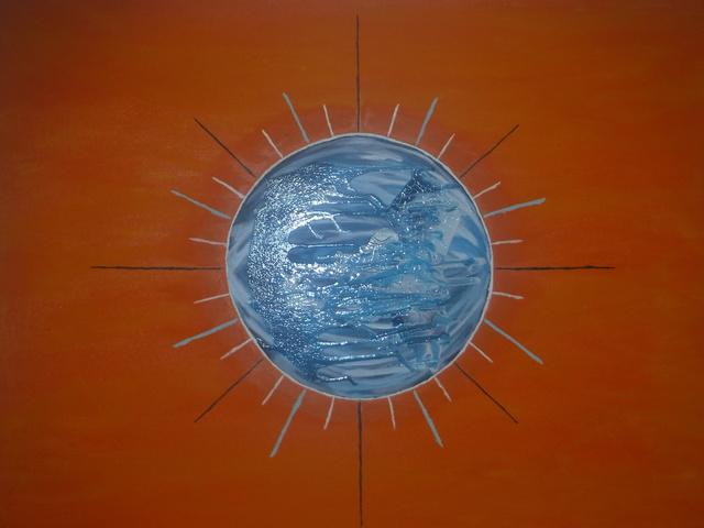 Reginald Hearn, 'Sol Azul', 2017, Saphira & Ventura Gallery