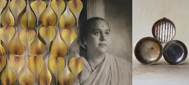 , 'Dadi Aaji and Dada Aajooba (Yellow Petals),' 2012, Wall Space Gallery