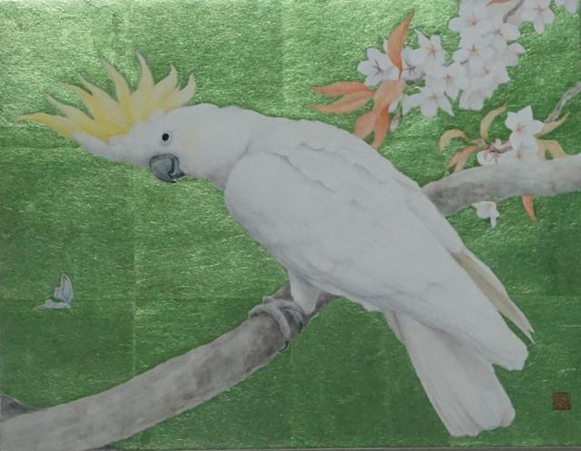 Sanzhi Chun 三枝淳, '鹦哥图', Hwas Gallery