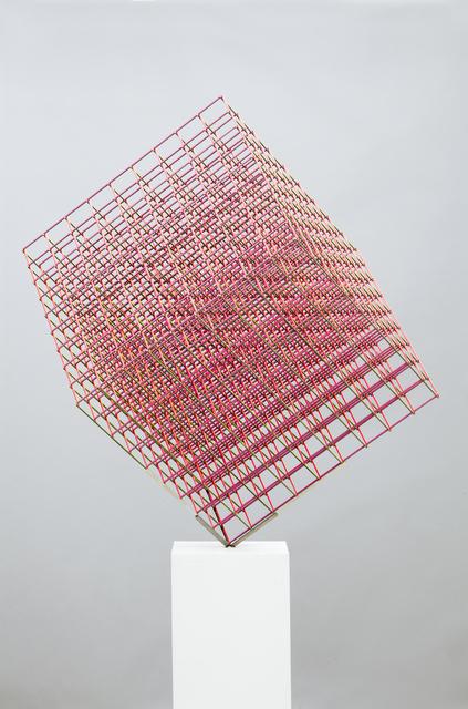 , 'Cubo Giratorio Policromático No. 3,' 2018, Roldan Moderno