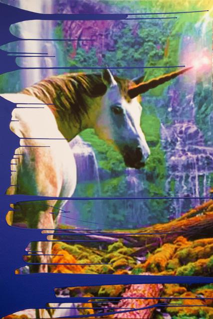, 'Unicorn (Yves Klein Blue Dip),' 2017, Ethan Cohen New York