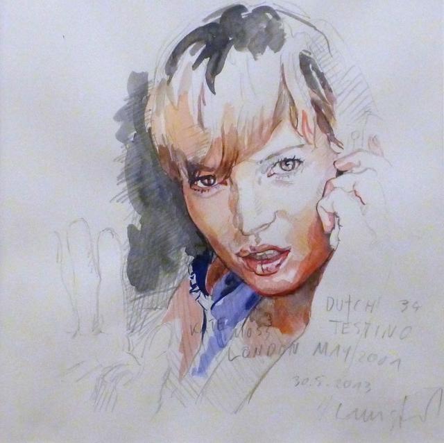, 'Kate Moss / Testino,' 2013, Christine König Galerie