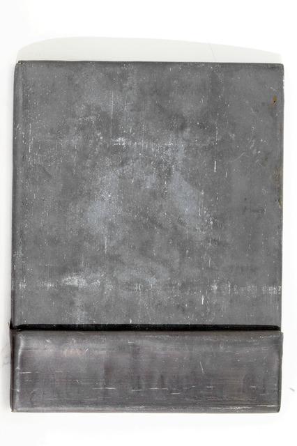 Fabio Mauri, 'Schermo piombo con tasca (Lead screen with pocket)', 1992, Hauser & Wirth