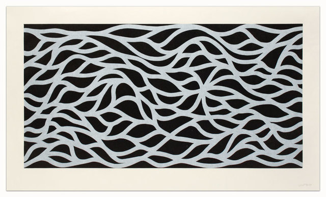 Sol LeWitt, 'Loopy Doopy, White on Black', 1999, Upsilon Gallery