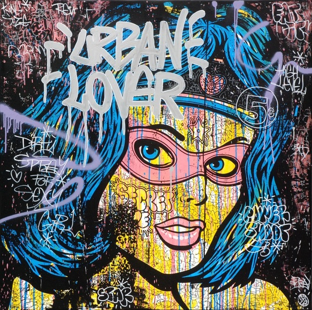 Speedy Graphito, 'Urban Lover', 2011, Art Five Gallery