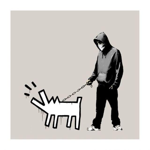 Banksy, 'Choose Your Weapon (Grey)', 2010, Contemporary Art Trader