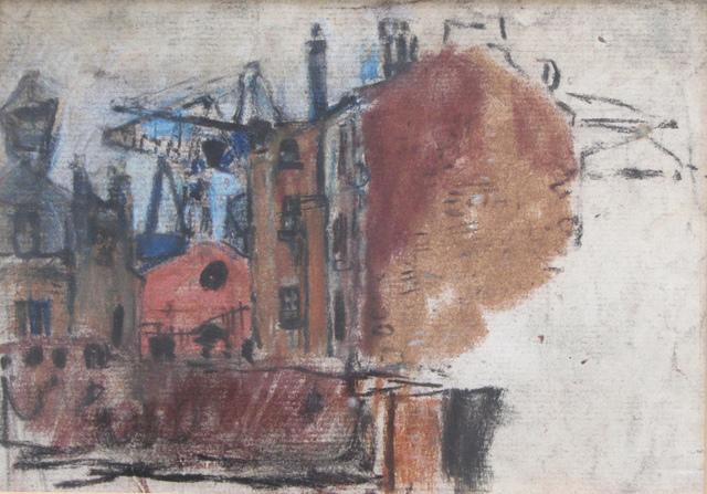 , 'Tenement and Crane,' , The Scottish Gallery