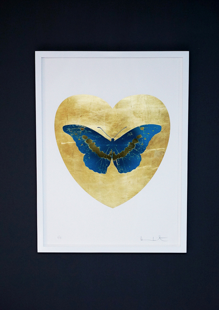 Damien Hirst, 'Butterfly, Blue/Gold', 2015, Arton Contemporary