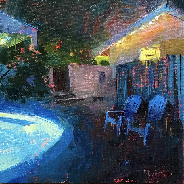 , 'Late Night Swim,' 2017, Abend Gallery