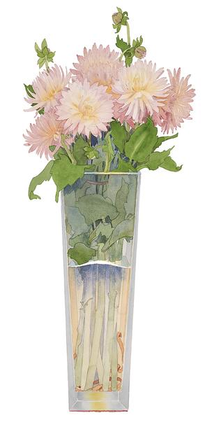Gary Bukovnik, 'Pink Peonies in a Tall Vase   ', 2017, Andra Norris Gallery
