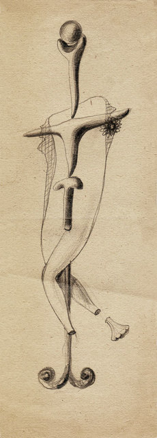 , 'Hedda Sterne, Theodore Brauner, Cadavre exquis 254,' 1930-1932, Nasui Collection & Gallery