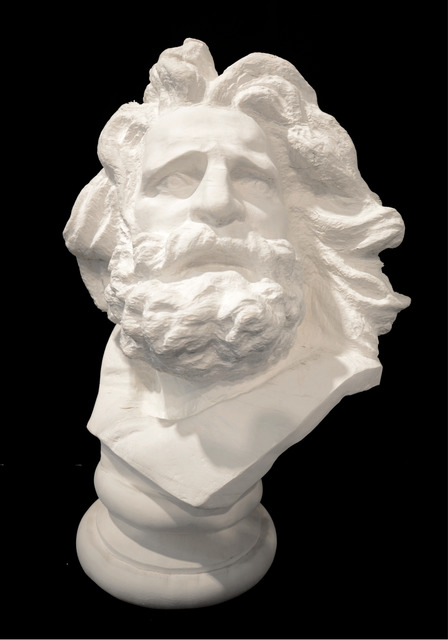 , 'Bust of Marseille,' 2012, Klein Sun Gallery