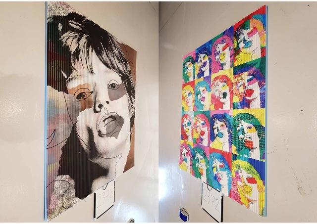 , 'Jagger or et argent ,' 2018, Galerie Vivendi