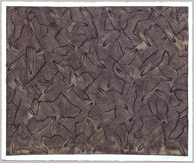 , 'Ecriture Series III #5,' 1994, Galerie Bhak