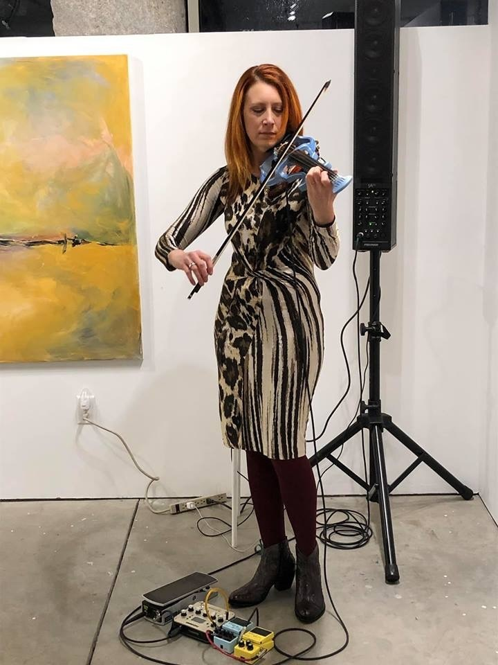 Opening Reception, March 1st, 2019 from 6-8 pm featuring Acclaimed Musician Tara Novak.