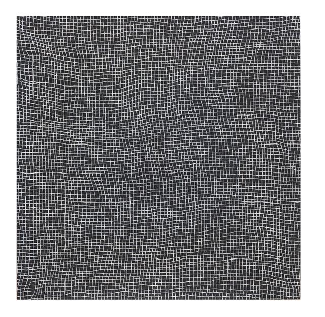 , 'Glory Hole (white on black) (vibgyor),' 2012, Hiram Butler Gallery