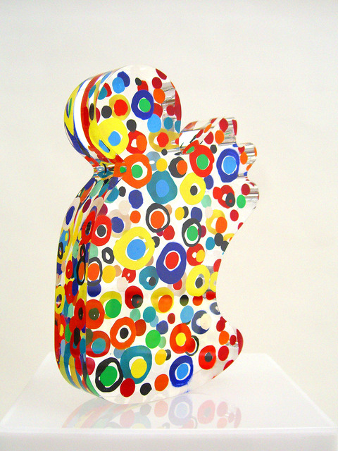 Susi Kramer, 'Figure', 2008, Sculpture, Acrylic glass,painting on 2 sides, Claudine Gil
