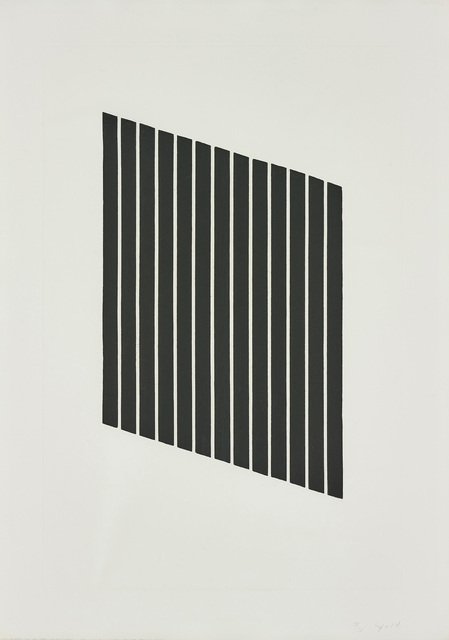 Donald Judd, 'Untitled: one plate', 1974, Phillips