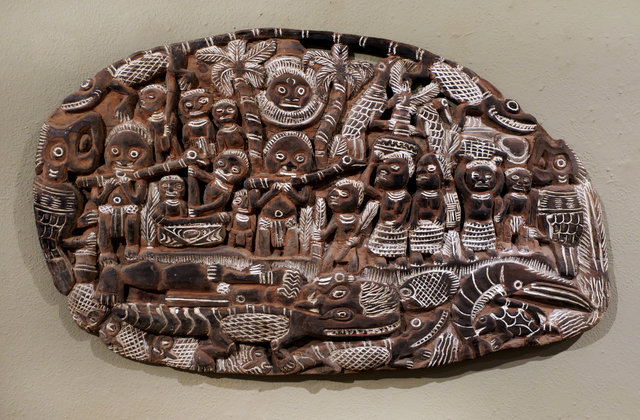 Papua New Guinea Tribal Art, 'Storyboard 1 ', 1960-1995, Etherton Gallery