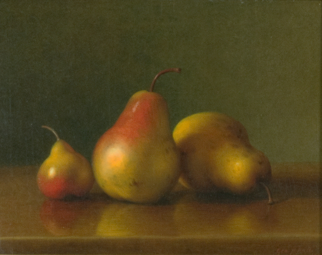 George Henry Hall, 'Still Life with Pears', 1869, Questroyal Fine Art