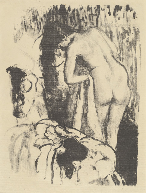 Edgar Degas, 'Nude Woman Standing, Drying Herself (Femme nue debout, a sa toilette)', ca. 1890, National Gallery of Art, Washington, D.C.