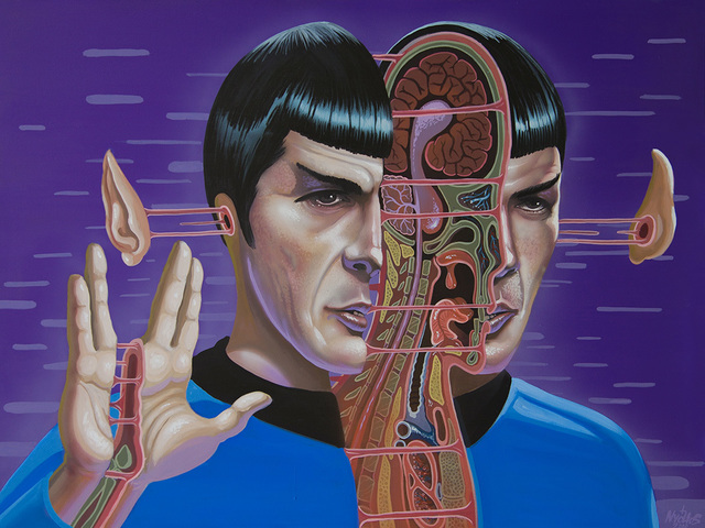 , 'Dissection of Spock,' 2016, Jonathan LeVine Projects