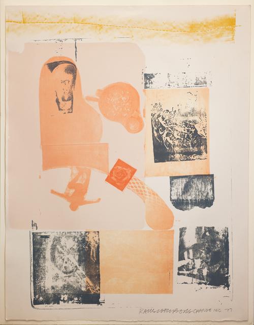 Robert Rauschenberg, 'Romances (Elysian)', 1977, DETOUR Gallery