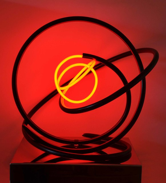 , 'Neon Orb 163,' 2016, The Biscuit Factory