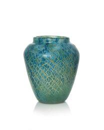 a 'Cloisonné' glass vase, shape JA